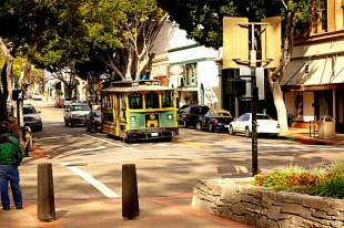 Old SLO Trolley- (medium sized photo)