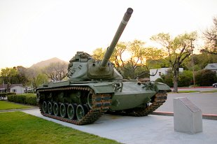 M60A3 Patton Battle Tank Angle View