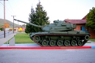 M60A3 Patton Battle Tank Side View