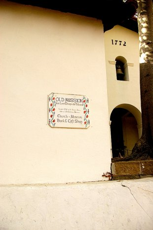 Old Mission Sign