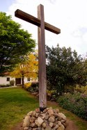 Old Mission Cross in San Luis Obispo, CA